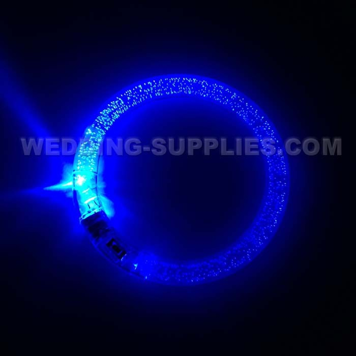 Flashing Blue Light Bracelet