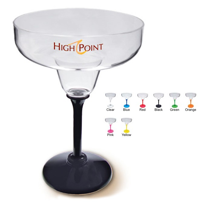 Printed Plastic Margarita Glass From Wedding Supplies