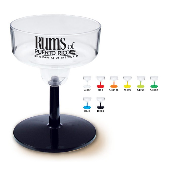 Hard Plastic Mini Margarita Shot Glass Sampler