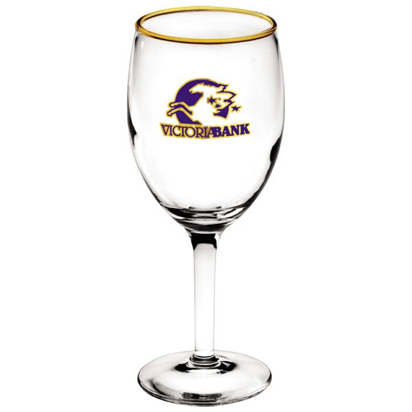 Custom Printed Wine Glasses for  Your Wedding