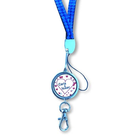 Bling Lanyard with Custom Pendant