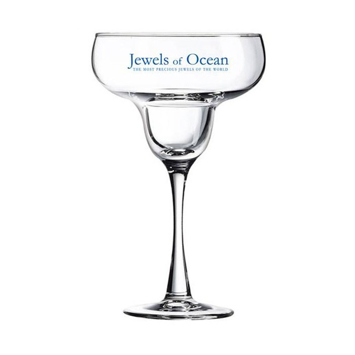 Customized Margarita Glasses for Weddings