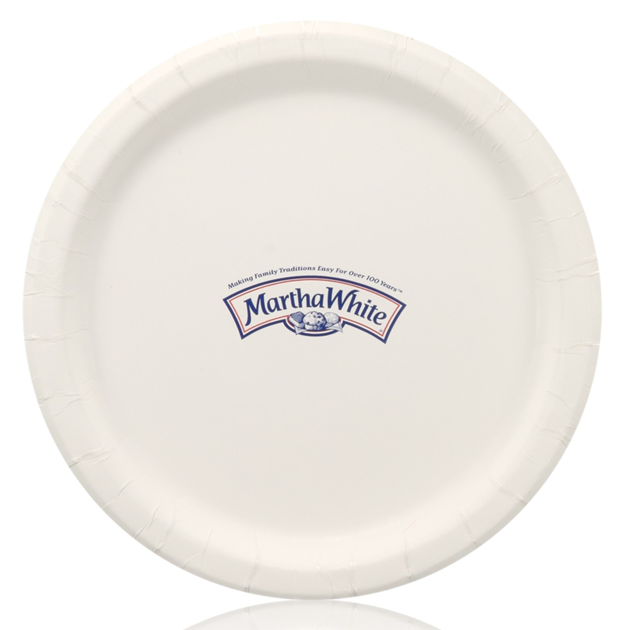"9"" Coated White Paper Plates"