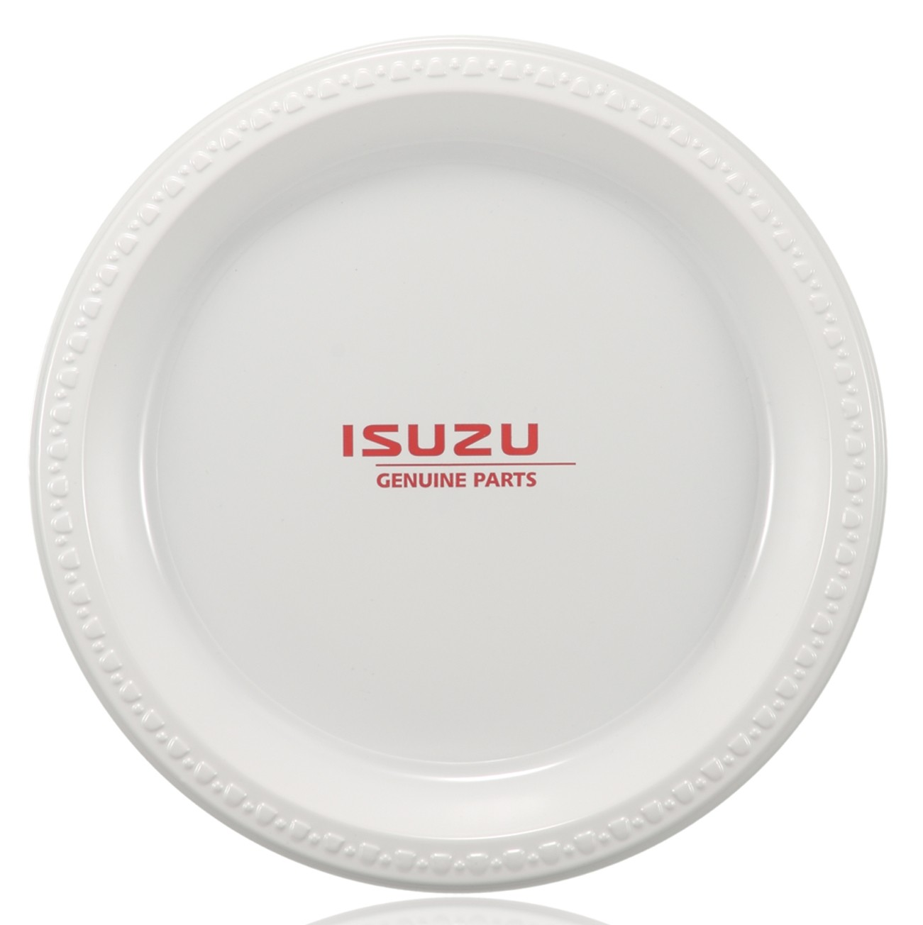 10  White Plastic Plates  sc 1 st  Wedding-Supplies.com & Printed 10