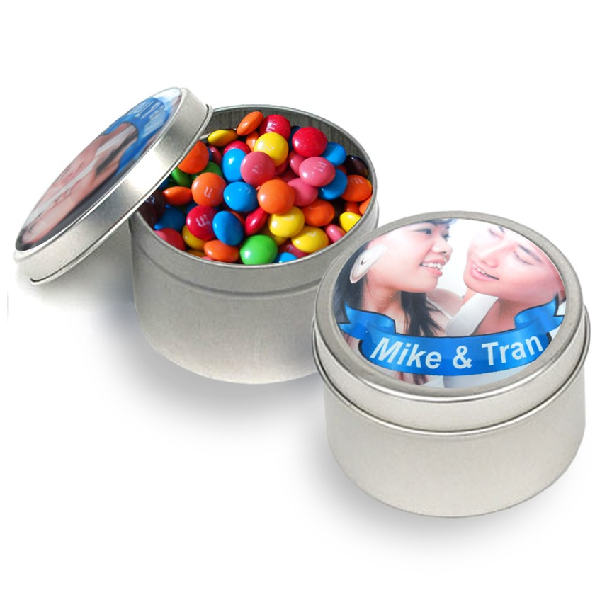 Metal Tins with Custom Lid