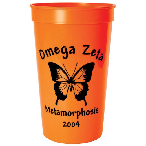Colored - 22 oz. Smooth Sided Stadium Cups