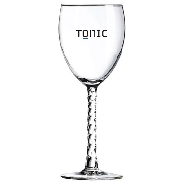 Wine Glasses Custom Printed for Weddings