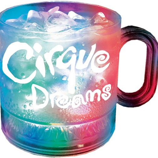 12oz Acrylic 3-Lightup Coffee Mugs