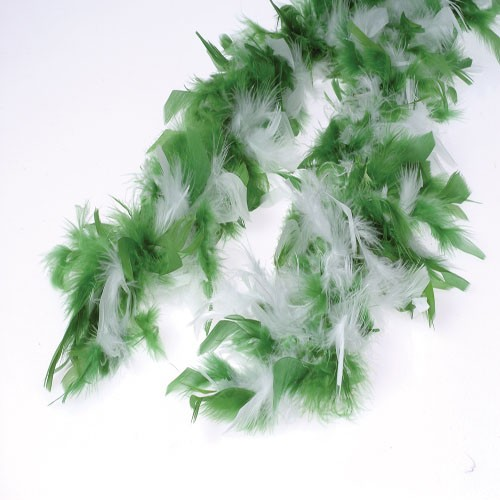 St Pats Green Feather Boas for Weddings and Parties