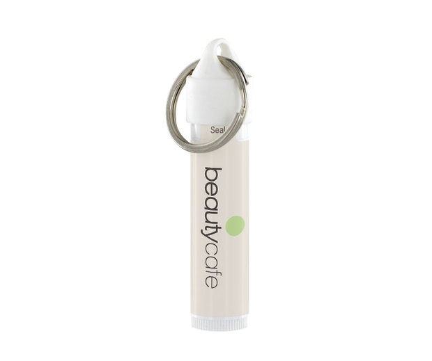 Classic Lip Balm with Metal key Ring
