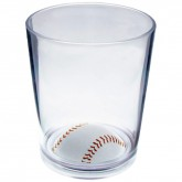 Baseball bottom glasses