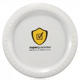 "7"" White Plastic Plates"