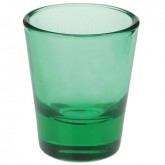 1.5 oz. Green Shotglasses