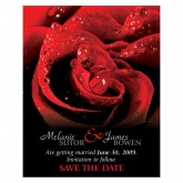 Save the Date - Red Roses