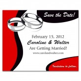Save the Date - Wedding Rings