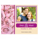 Save the Date - Couple / Roses