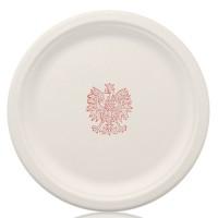 "10"" White Eco-Paper Plates"