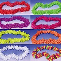 Hawaiian Deluxe Flower Leis