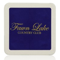 "40pt 3.5"" Imprinted Square Coasters"