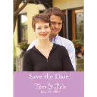 Full Color Photo Wedding Magnet