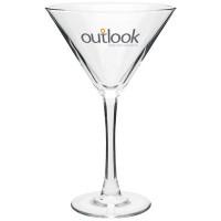 Large Custom Printed Martini Glasses